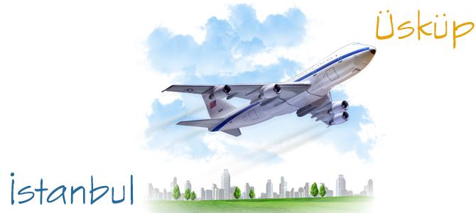 İstanbul-Üsküp Uçak