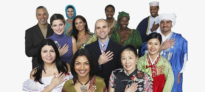 Farklı Etnik Kökenden İnsanlar